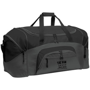 The Van Black Logo BG99 Colorblock Sport Duffel