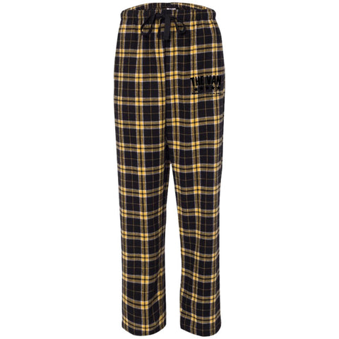 Its The Van (Black) F20 Unisex Flannel Pants