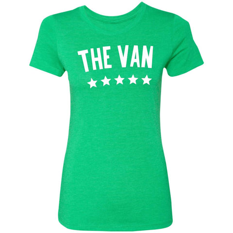 The Van White Logo NL6710 Ladies' Triblend T-Shirt
