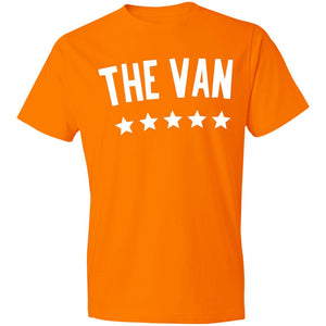The Van White Logo 980 Lightweight T-Shirt 4.5 oz