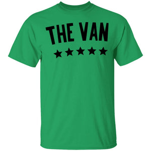 The Van Black Logo G500B Youth 5.3 oz 100% Cotton T-Shirt