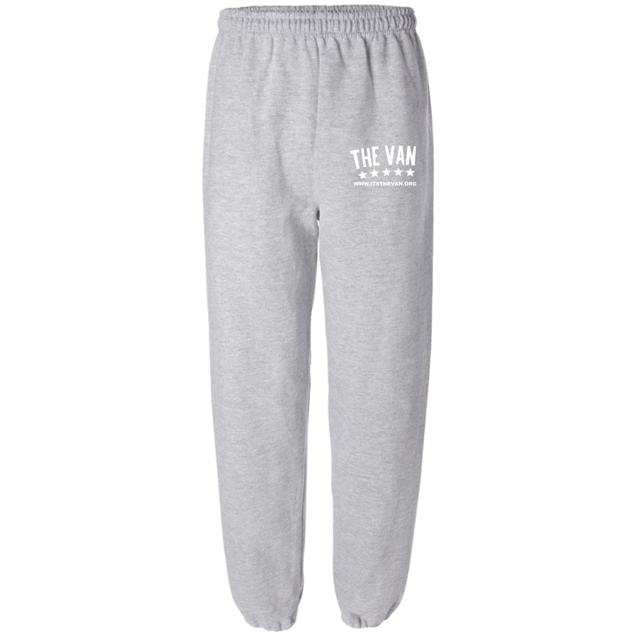 Its The Van (White) G182 Fleece Sweatpant without Pockets