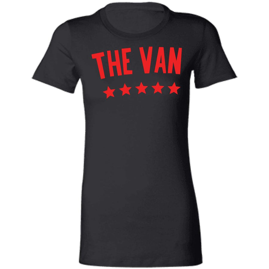 The Van Red Logo 6004 Ladies' Favorite T-Shirt