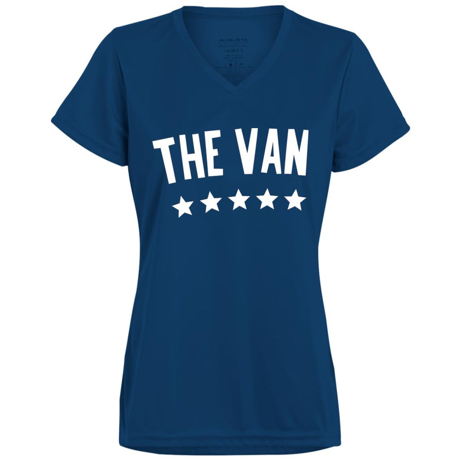 The Van White Logo 1790 Ladies' Wicking T-Shirt
