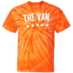 The Van White Logo CD100 100% Cotton Tie Dye T-Shirt