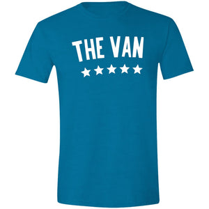 The Van White Logo G640 Softstyle T-Shirt