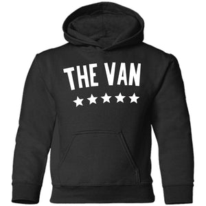 The Van White Logo CAR78TH Toddler Pullover Hoodie (White)