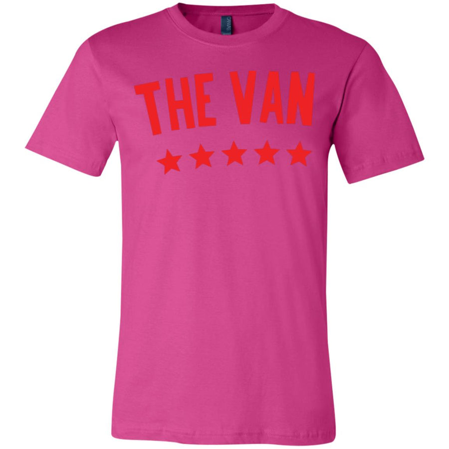 The Van Red Logo 3001Y Youth Jersey Short Sleeve T-Shirt