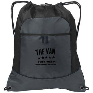 The Van Black Logo BG611 Pocket Cinch Pack