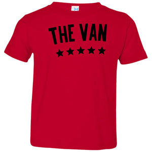 The Van Black Logo 3321 Toddler Jersey T-Shirt