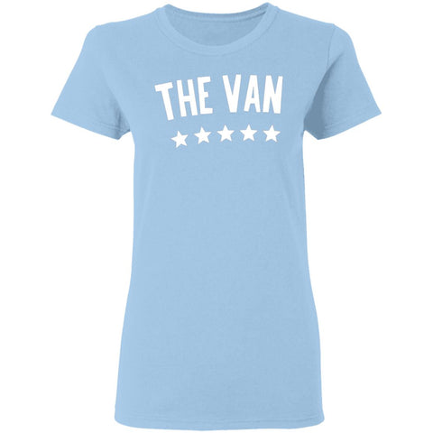 The Van White Logo G500L Ladies' 5.3 oz. T-Shirt