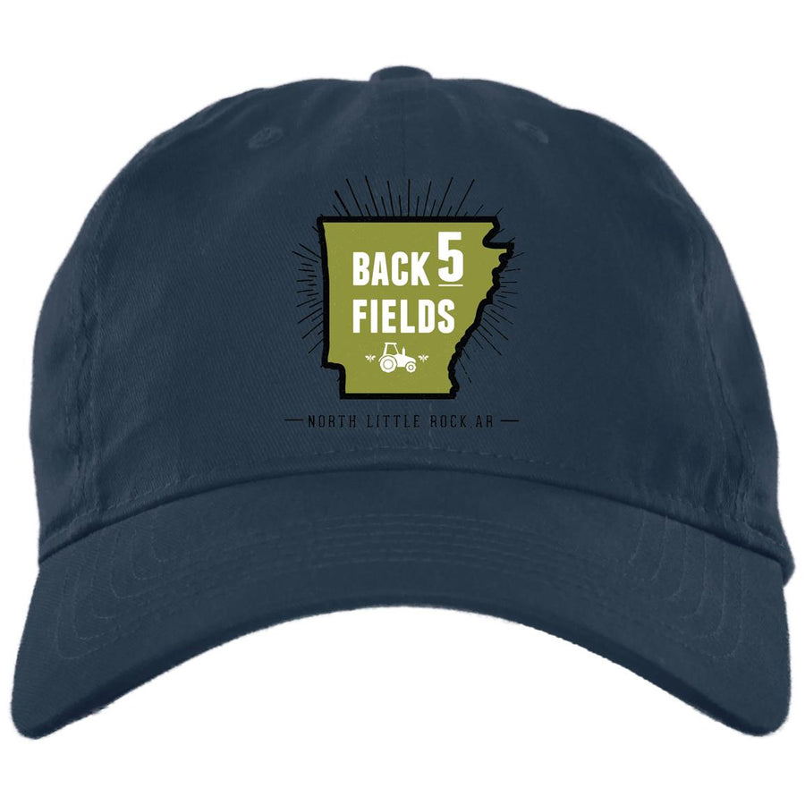 Back 5 Logo - PNG BX880 Twill Unstructured Dad Cap