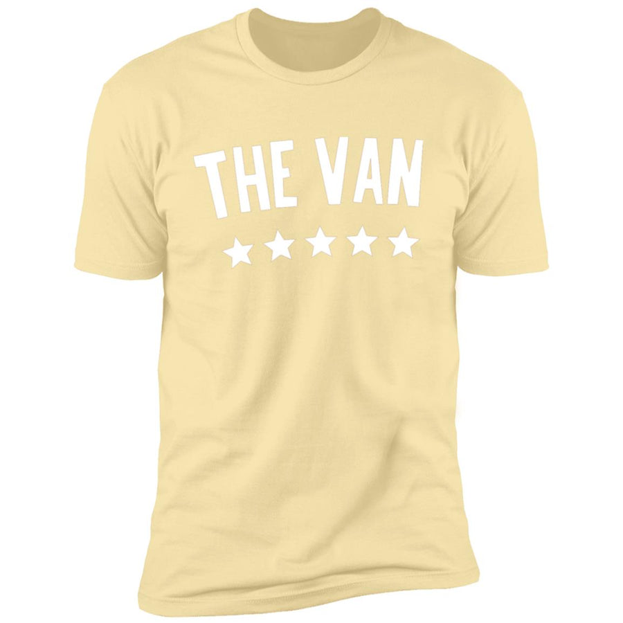 The Van White Logo NL3600 Premium Short Sleeve T-Shirt