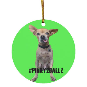 Pink2ballz SUBORNC Circle Ornament (Pinky2Ballz)
