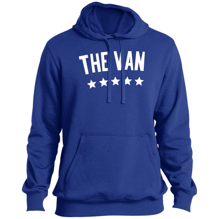 The Van White Logo ST254 Pullover Hoodie (White)