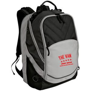 The Van Red Logo BG100 Laptop Computer Backpack