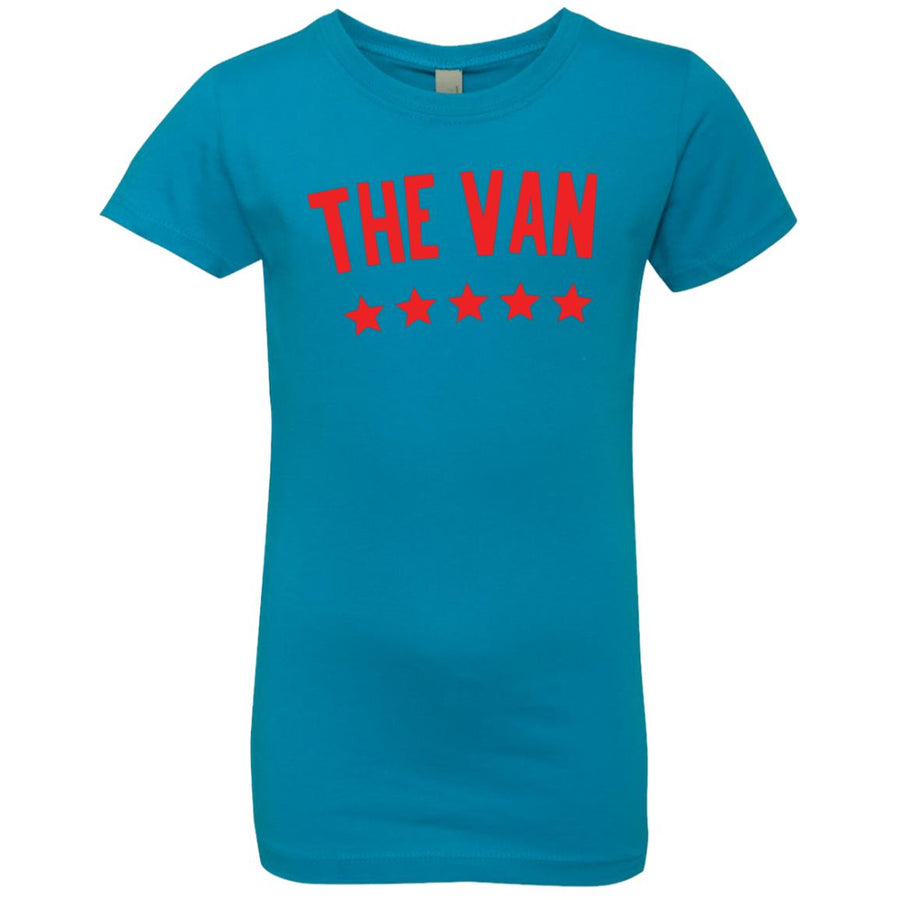 The Van Red Logo NL3710 Girls' Princess T-Shirt