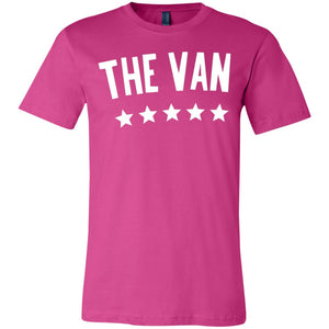 The Van White Logo 3001Y Youth Jersey Short Sleeve T-Shirt