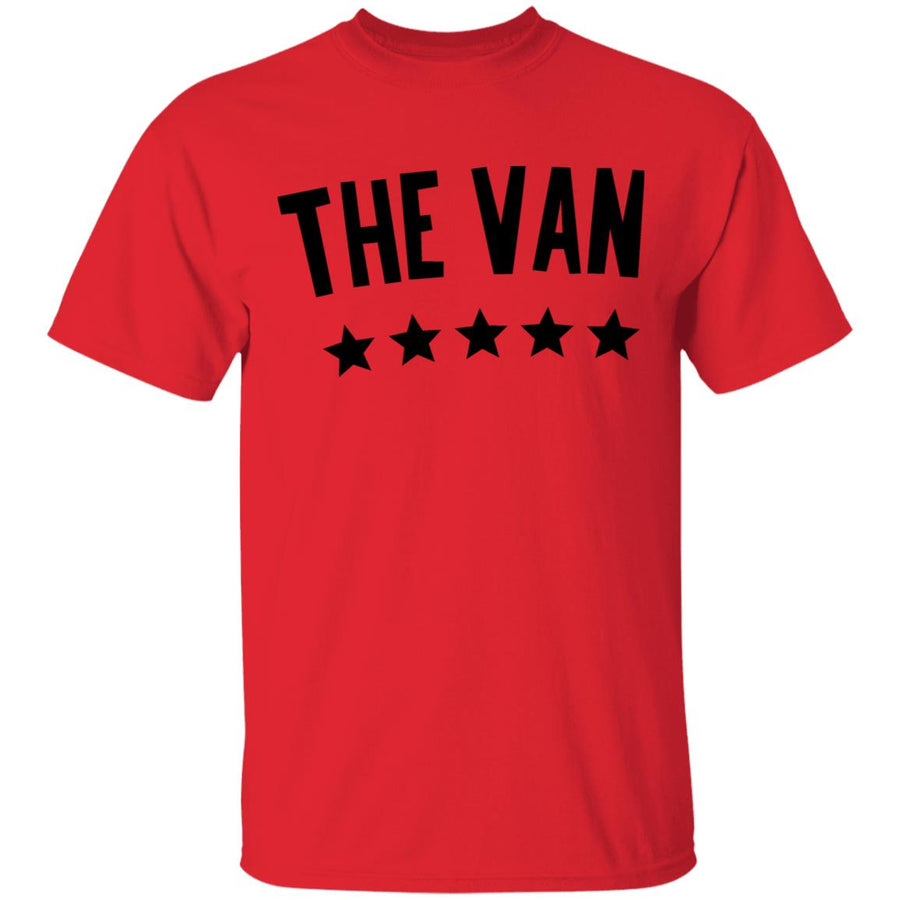 The Van Black Logo G500 5.3 oz. T-Shirt