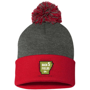 Back 5 Logo - PNG SP15 Pom Pom Knit Cap
