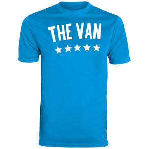 The Van White Logo 791 Youth Wicking T-Shirt