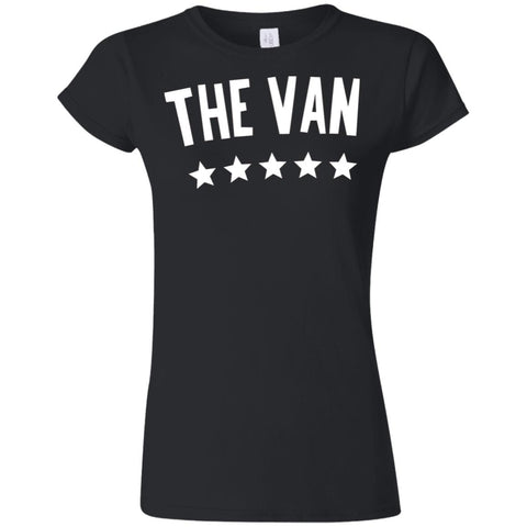 The Van White Logo G640L Softstyle Ladies' T-Shirt