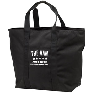 The Van White Logo B5000 All Purpose Tote Bag