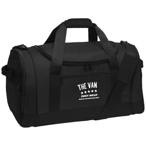 The Van White Logo BG800 Travel Sports Duffel