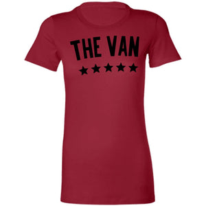 The Van Black Logo 6004 Ladies' Favorite T-Shirt