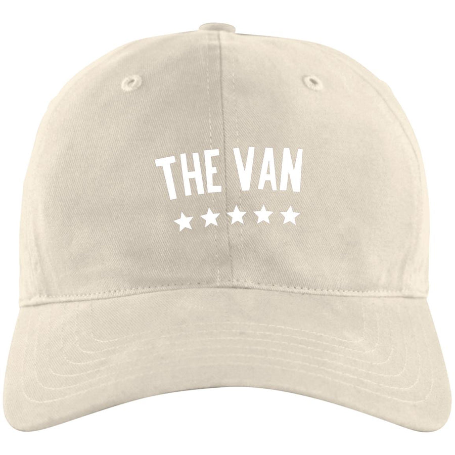 The Van White Logo A12 Unstructured Cresting Cap
