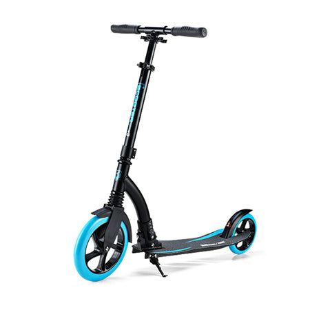 Trottinette adulte 230mm bleue en aluminium Compact