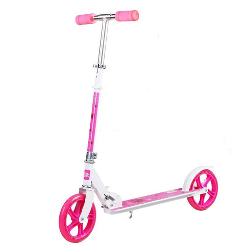 Trottinette enfant violet en aluminium Absoption