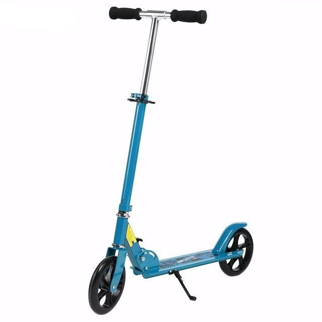 Trottinette adulte ajustable bleue Elifine