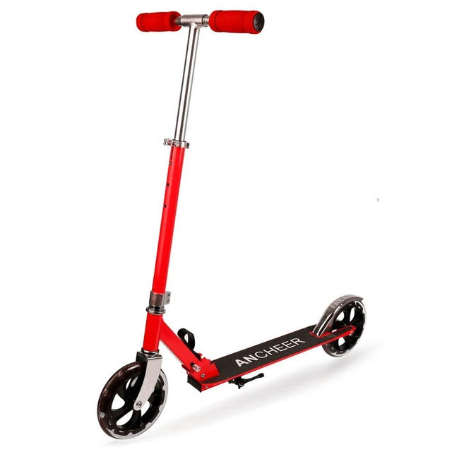 Trottinette adulte en aluminium rouge Kick Alloy
