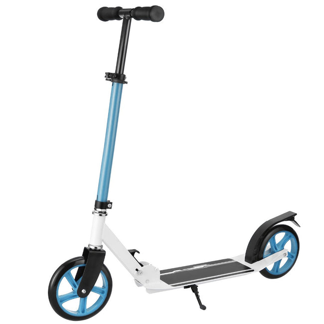 Trottinette adulte ajustable bleue Ancheer