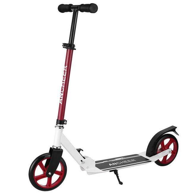 Trottinette adulte en aluminium rouge Alloy