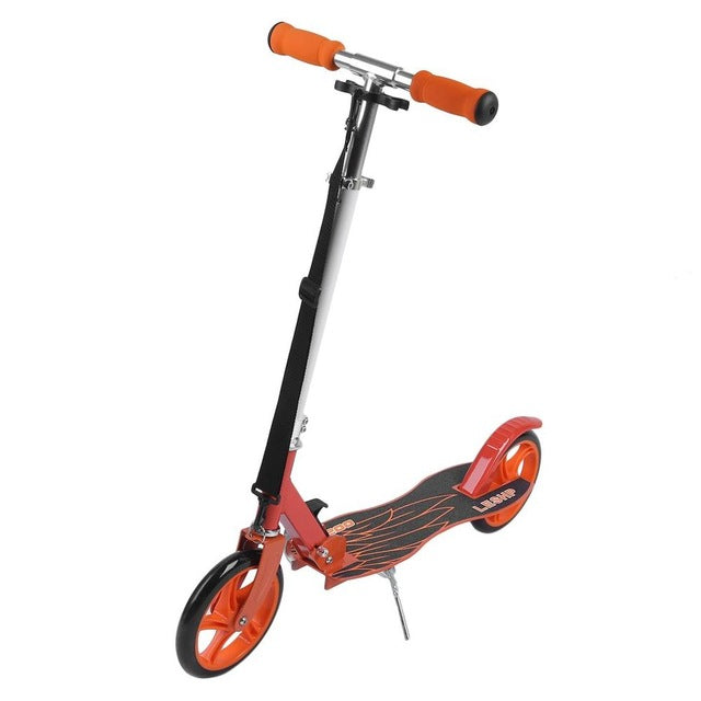 Trottinette enfant orange avec guidon ajustable Wholesale