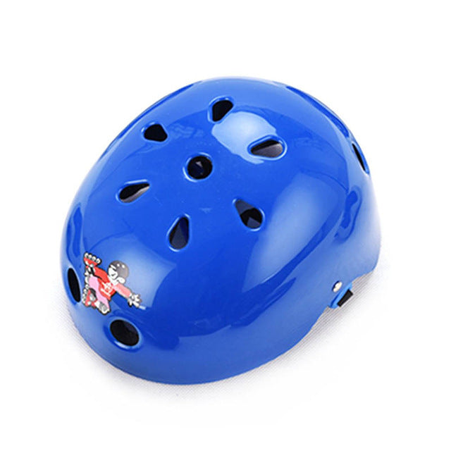 Casque trottinette enfant bleu Ultralight