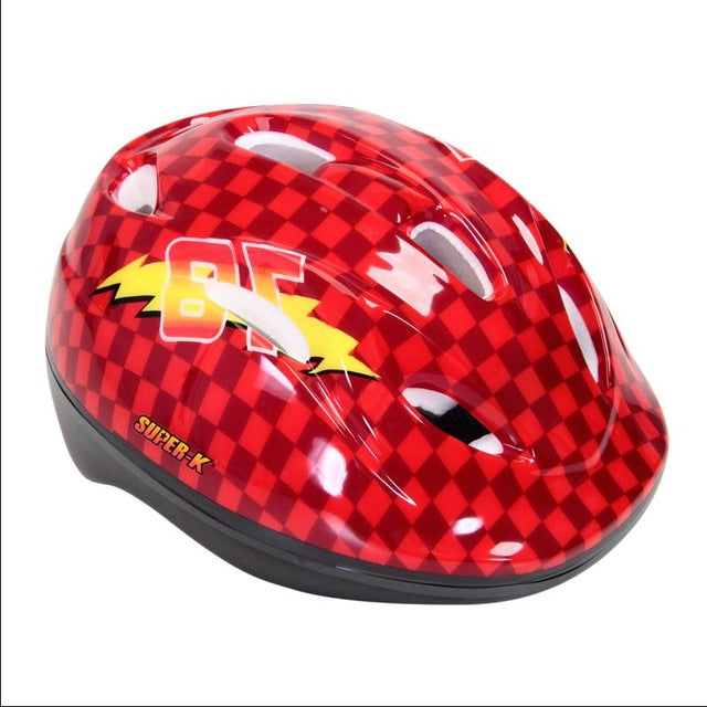 Casque trottinette enfant rouge Protect