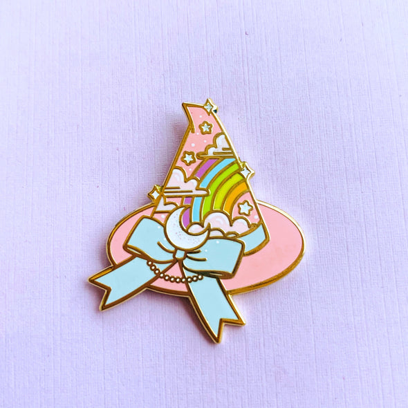 *PREORDER* Magickal Witch Hat Enamel Pin