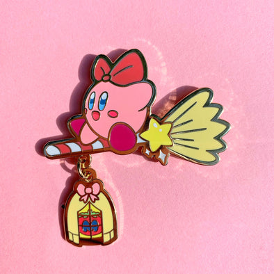 Kirby's Delivery Service Enamel Pin