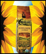 SUNFLOWER -  Light Roast - Whole or Ground Bean, or Capsules - USDA Organic - Non GMO