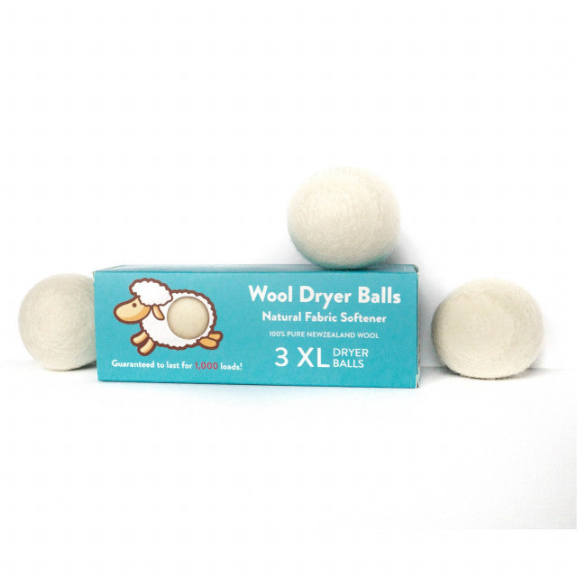 Wool Dryer Balls (3 Pack XL) - Redemption Candle Company