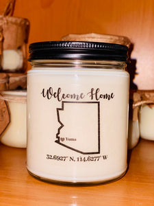 Yuma Arizona candle