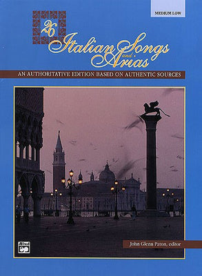 Italian Songs and Arias Sheet Music