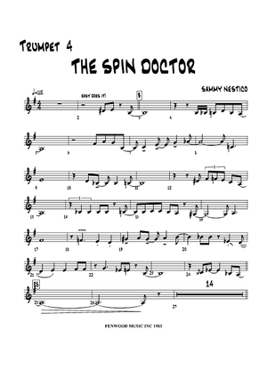 The Spin Doctor - Trumpet 4