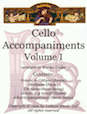 Cello Accompaniments - Volume 1