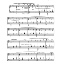 from the 3rd Movement, Piano Quartet in Eb Major