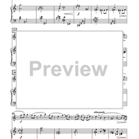 Three Arias for Flute and Piano