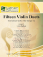 Fifteen Violin Duets Arranged from keyboard works of the Baroque Era
